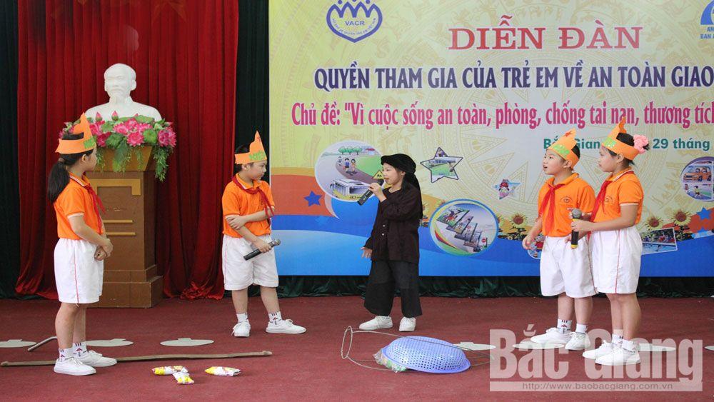 trẻ em, Hội Bảo vệ quyền trẻ em, Bắc Giang,