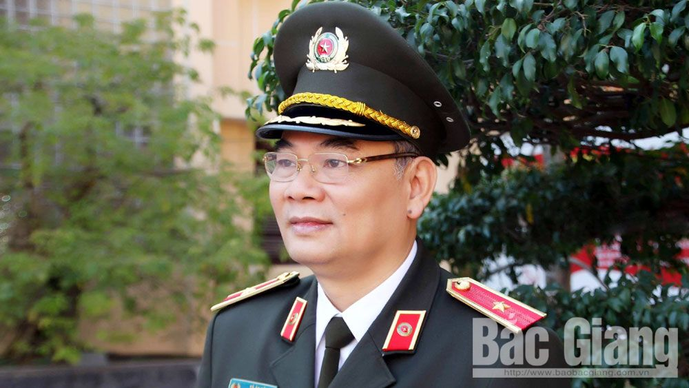 Thiếu tướng Tô Ân Xô, Giám đốc Công an tỉnh Bắc Giang được điều động giữ chức Chánh Văn phòng Bộ Công an.