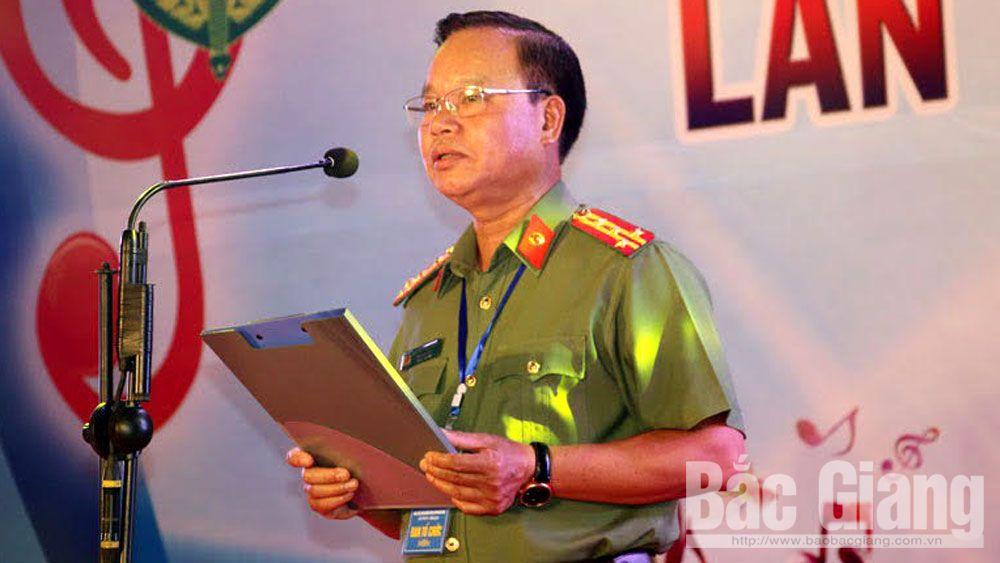 Đại tá Nguyễn Văn Chức được giao phụ trách Công an tỉnh Bắc Giang.