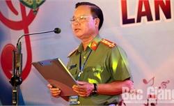 Đại tá Nguyễn Văn Chức được giao phụ trách Công an tỉnh Bắc Giang