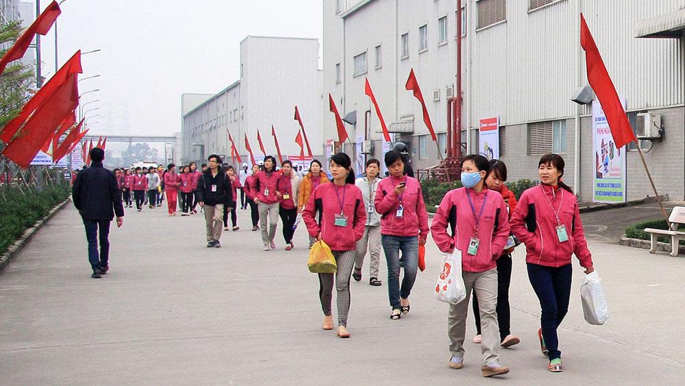 Lao động, tìm việc làm, công nhân, Còn nhiều trăn trở, Tập đoàn ICOGroup