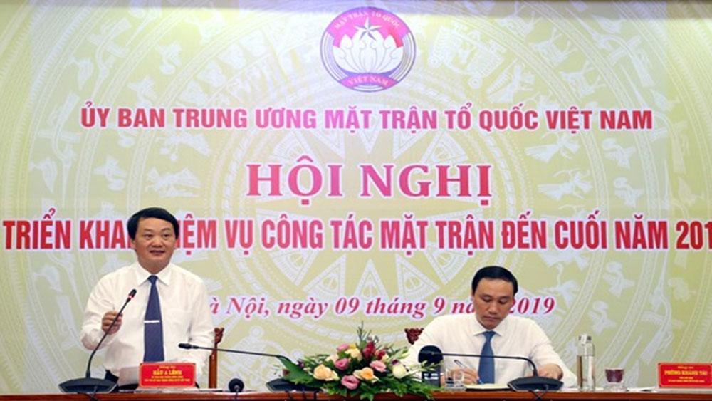 1.300 người, tham dự, Đại hội đại biểu toàn quốc MTTQ Việt Nam lần thứ IX