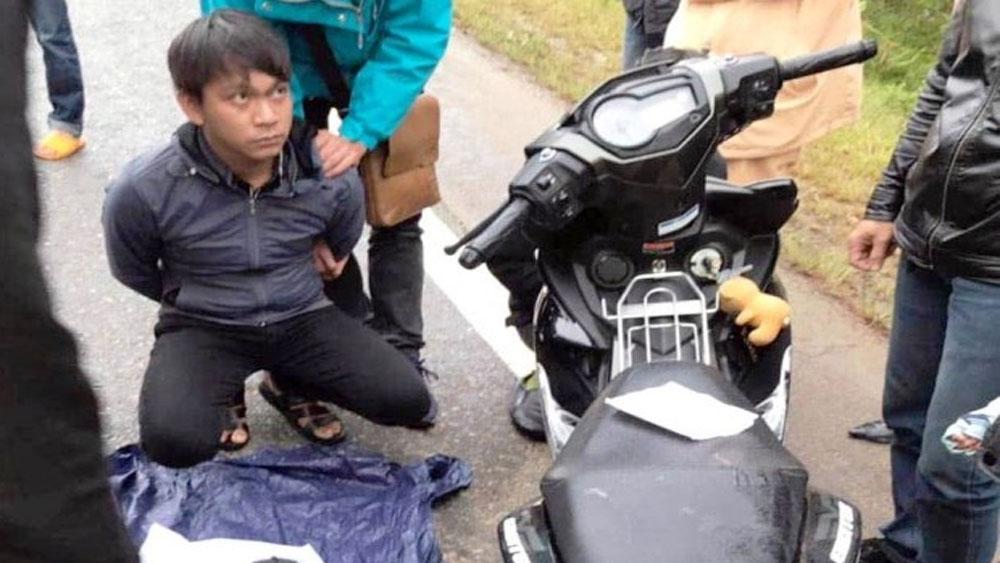 Bắt quả tang, hai đối tượng, mang súng, vận chuyển ma túy, Nguyễn Văn Long