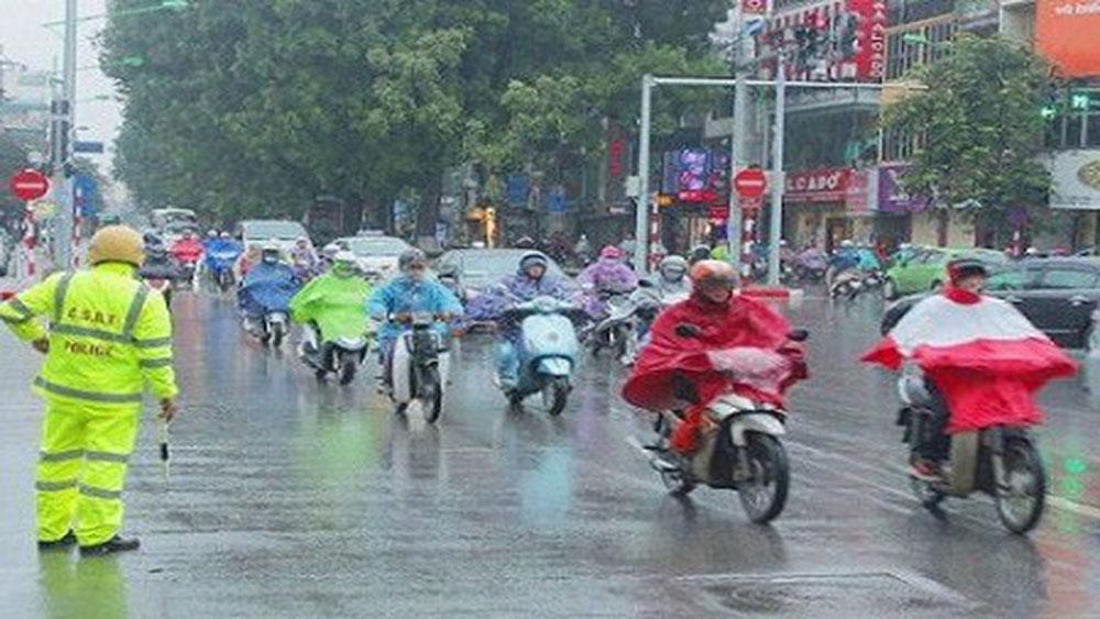 Cảnh báo, mưa dông , nắng nóng trên 37 độ C