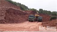 Thất thoát tài nguyên đất tại điểm hạ độ cốt nền thôn Bình An, xã Tiền Phong (Yên Dũng)