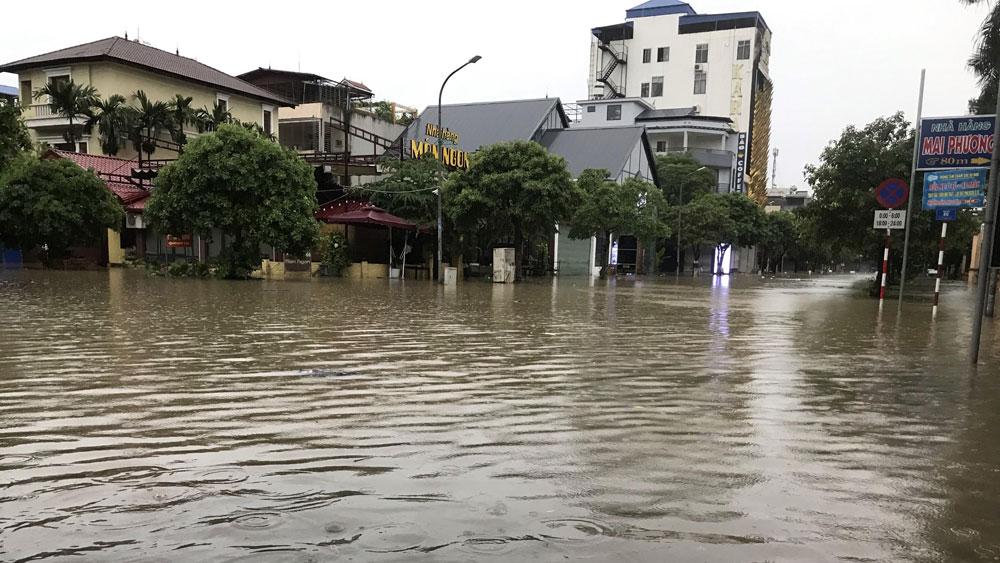 Thái Nguyên, sập tường, mưa lớn, 3 người tử vong