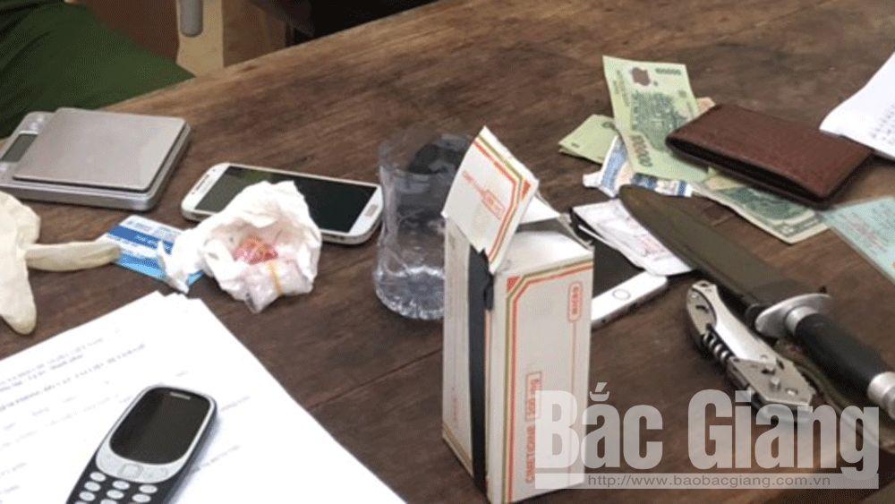 Cảnh sát giao thông; ma túy; vận chuyển ma túy trái phép, Công an Bắc Giang, Lục Nam