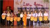 Liên hoan trình diễn thơ tại Lục Nam