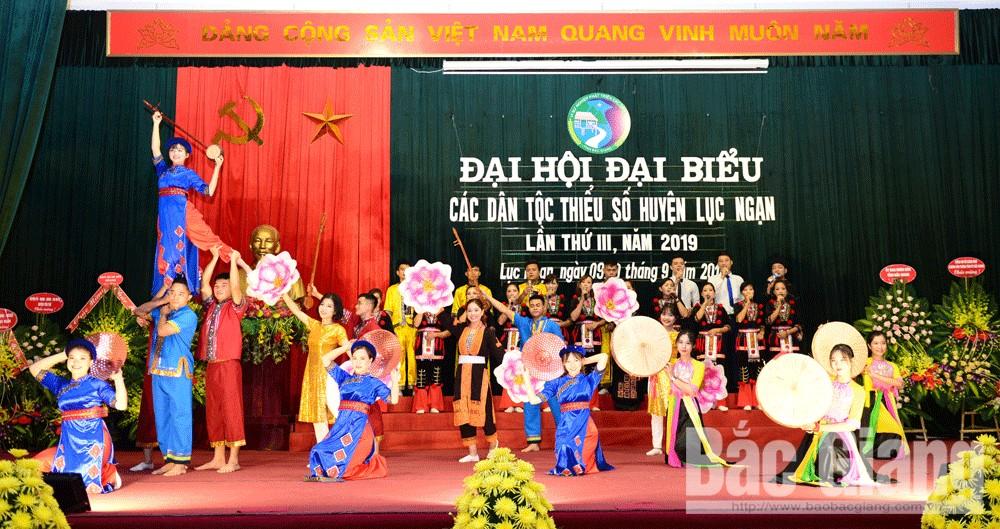 Đại hội các dân tộc thiểu số, huyện Lục Ngạn, Bắc Giang, kinh tế