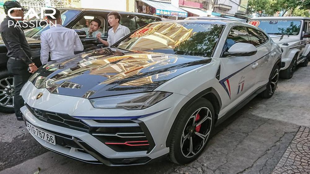 Lamborghini Urus độ Mansory độc nhất của Minh nhựa