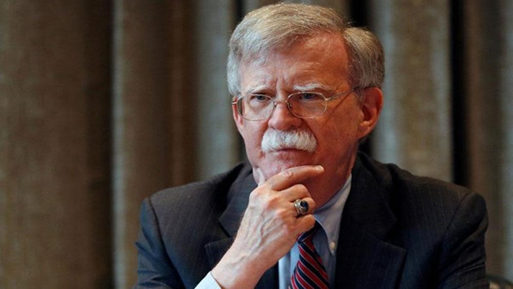 Tổng thống Mỹ Trump, sa thải, cố vấn an ninh quốc gia John Bolton