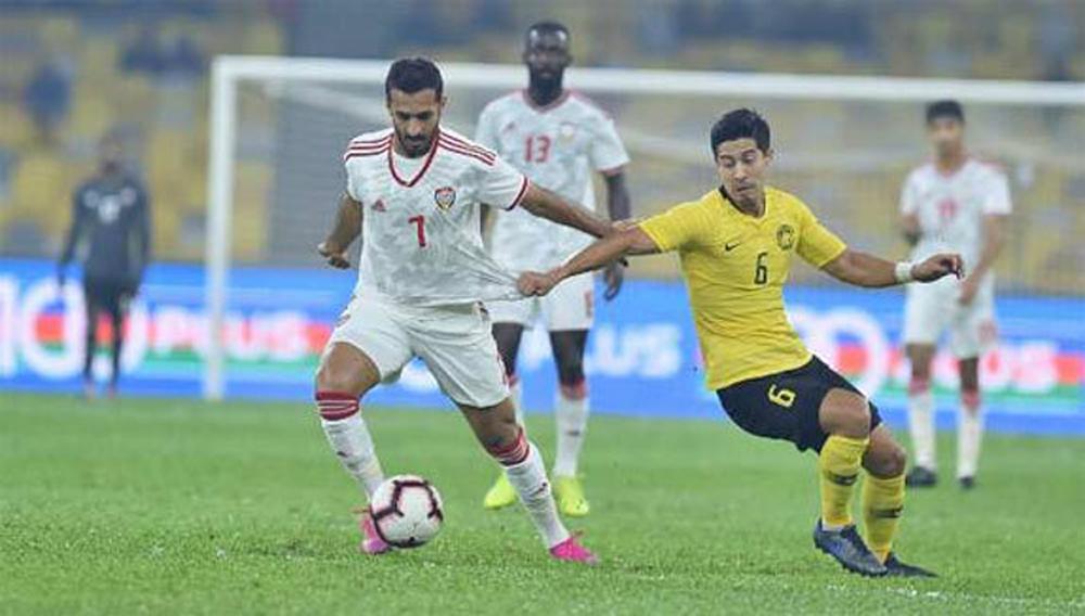 Malaysia, thua ngược UAE, World Cup 2022