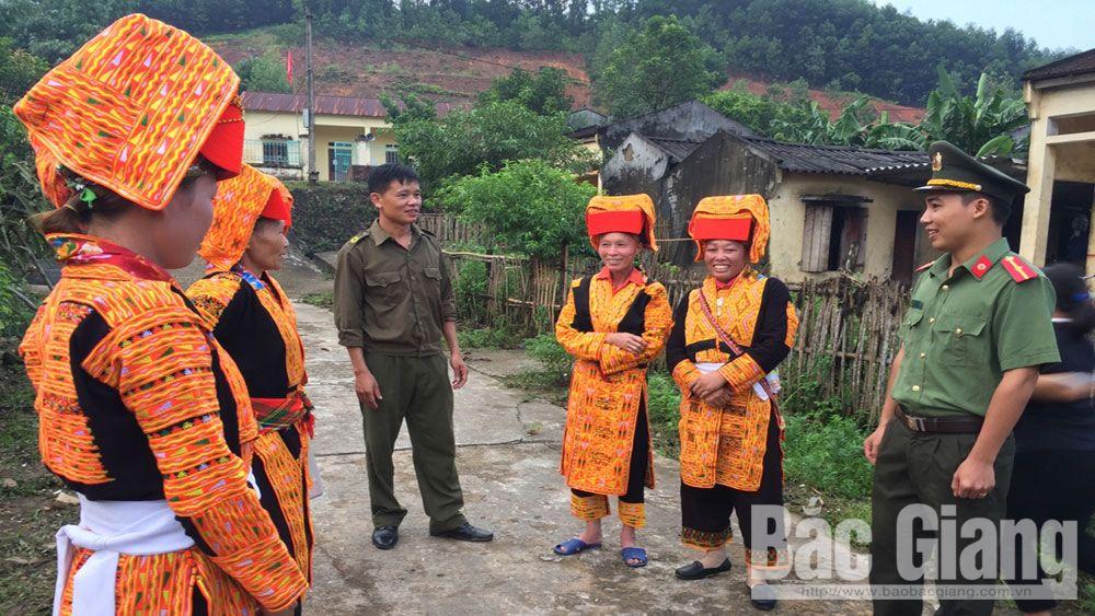 Công an huyện Sơn Động: Bám địa bàn, bảo đảm an ninh trật tự