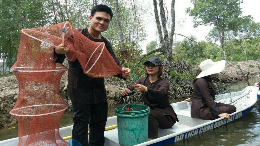 Ca Mau develops eco-tourism, community-based tourism