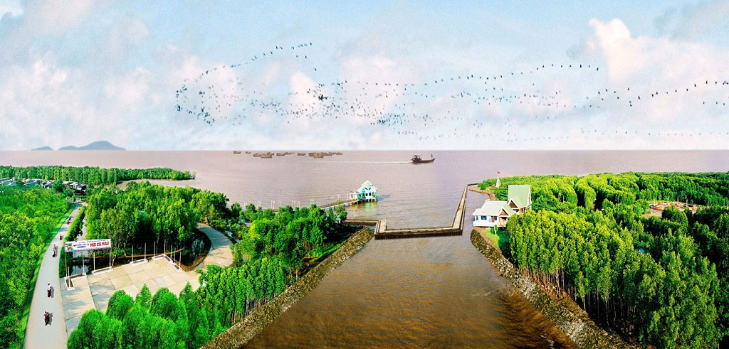 Ca Mau, eco-tourism, community-based tourism, spearhead economy, tourist attractions, domestic and foreign visitors, Ramsar Biosphere Reserve