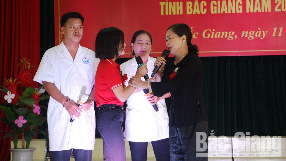 hội thi, sơ cấp cứu, Hội chữ thập đỏ, tình nguyện viên, Bắc Giang
