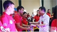 Đội Lục Nam xuất sắc giành giải Nhất tại Hội thi kỹ thuật sơ cấp cứu tỉnh Bắc Giang