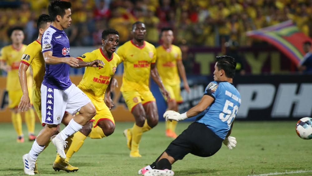 Hà Nội, Nam Định, V-League, Pháo sáng