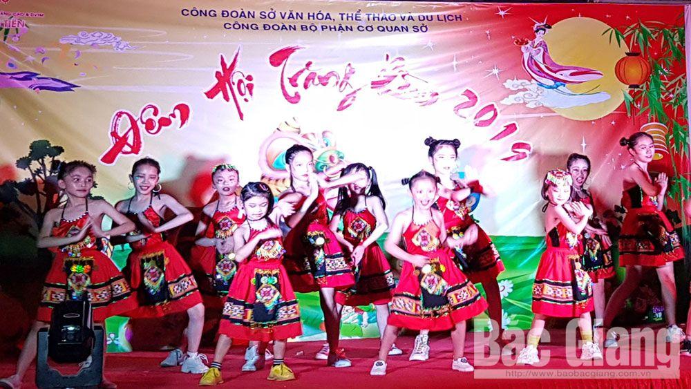 trung thu, thành phố Bắc Giang, quà trung thu, Sở Văn hóa, Thể thao và Du lịch, trẻ em, thiếu nhi