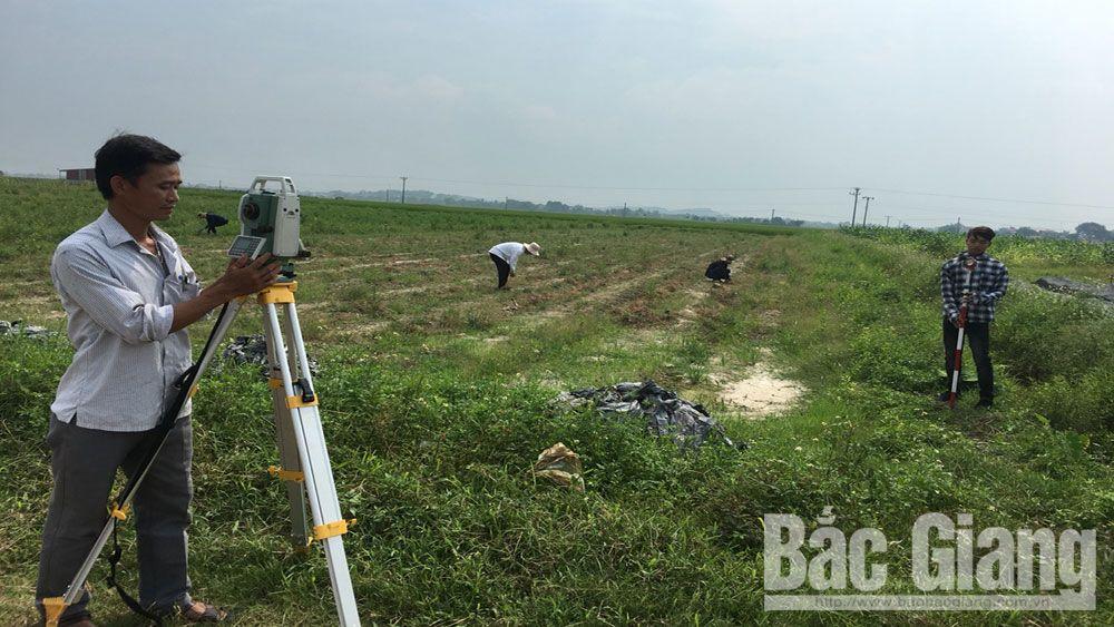 dồn điền đổi thửa, Bắc Giang, giấy chứng nhận quyền sử dụng đất, đất đai