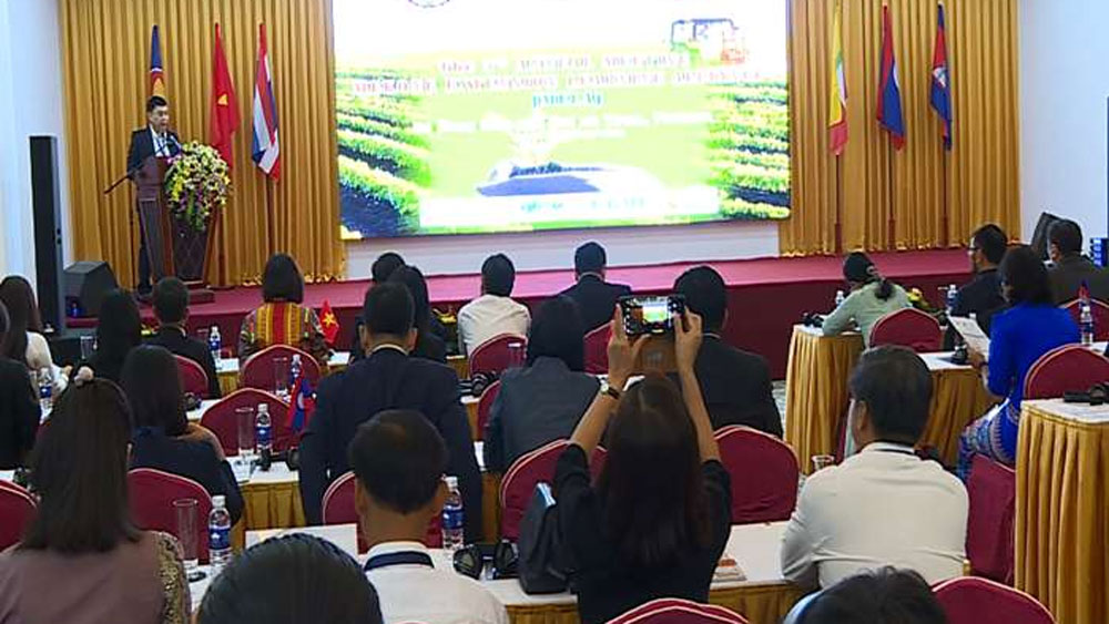 Mekong sub-region countries, share experience, agricultural extension, ASEAN cooperation,  agricultural training and extension, smart agriculture