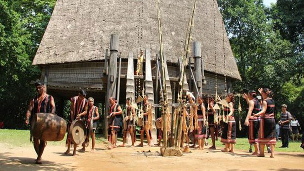 domestic and foreign friends, special programme, Gia Lai province, Vietnam Museum of Ethnology, Gong performance, folk singing