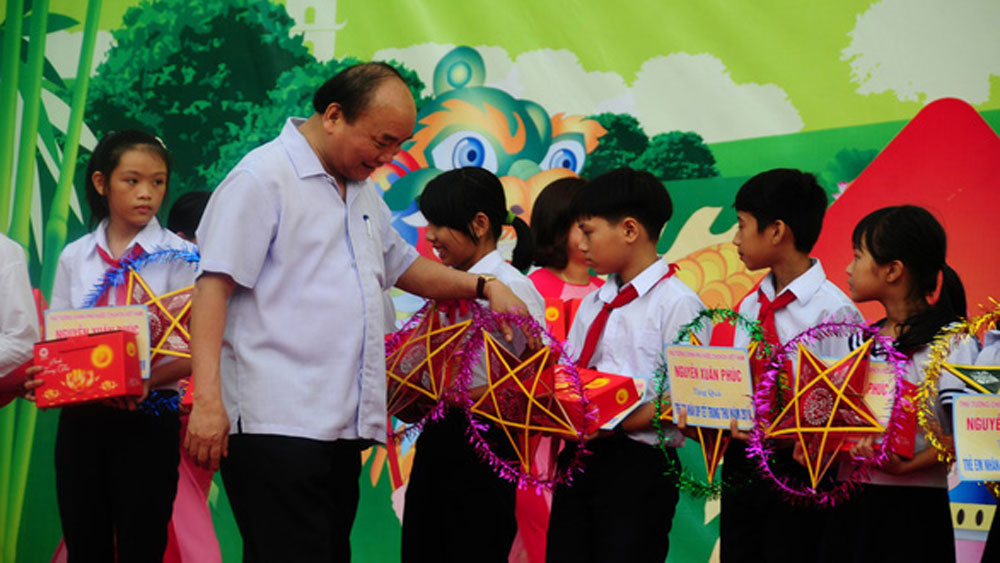 Children nationwide join various Mid-Autumn Festival activities