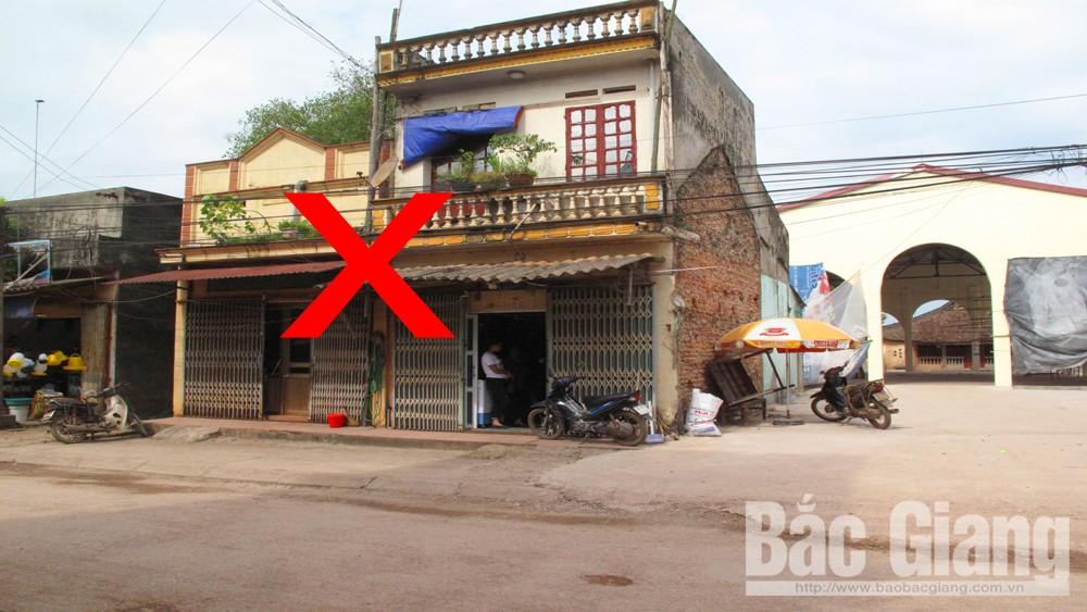 chợ Tân Quang, thôn Đồng Quang, xã Đào Mỹ, huyện Lạng Giang, Bắc Giang
