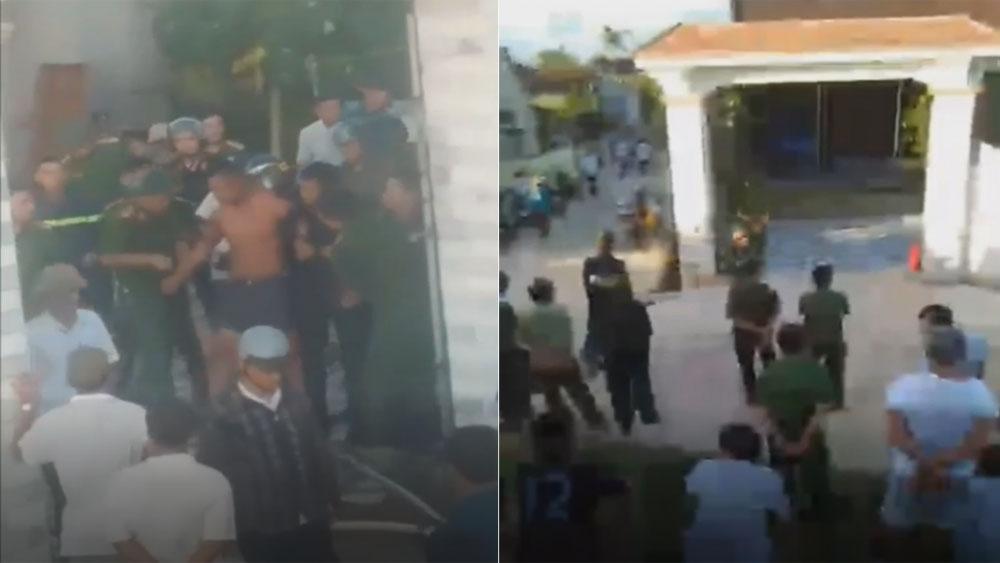 Giải cứu, kẻ ôm bình gas cố thủ trong nhà, Nghệ An, Nguyễn Quốc Duy
