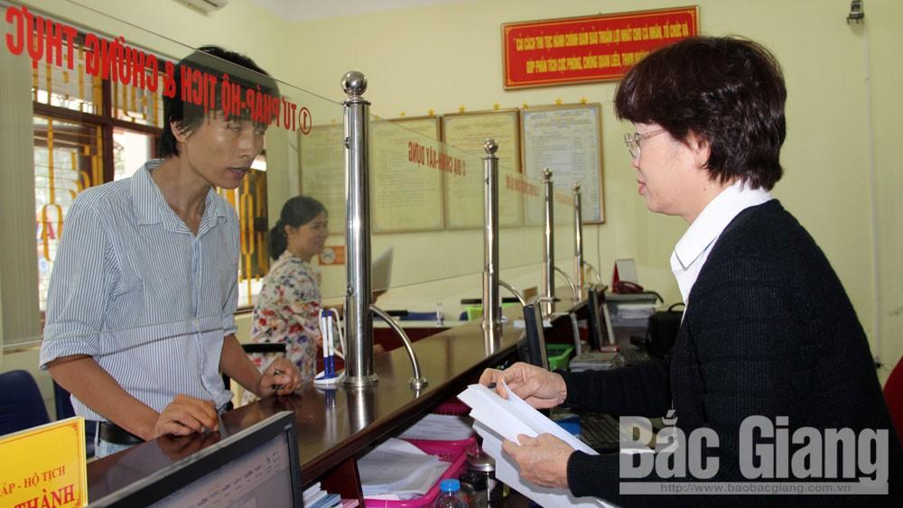 Đăng ký, quản lý hộ tịch, Bộ Tư pháp, căn cước công dân, Sở Tư pháp tỉnh Bắc Giang