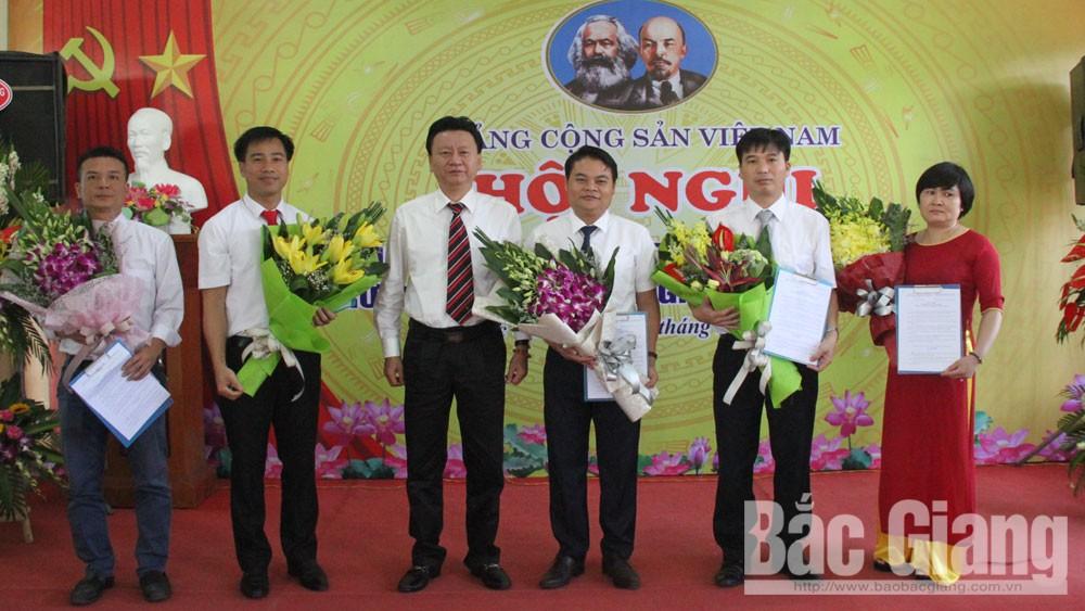thành lập đảng bộ, Trường Trung cấp nghề GTVT Bắc Giang, lái xe.