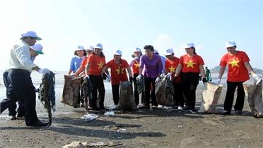 Lễ phát động quốc gia hưởng ứng Chiến dịch làm cho thế giới sạch hơn năm 2019