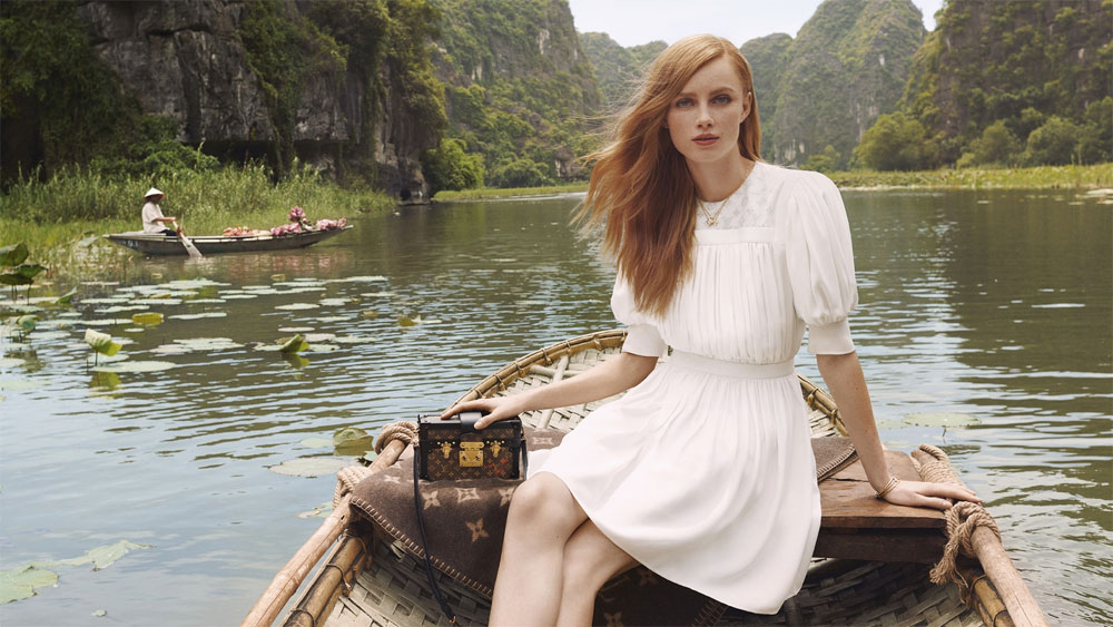 Vietnam's scenery, new promition campaign, Louis Vuitton campaign, most stunning scenic spots, new advertisement campaign,  French luxury brand