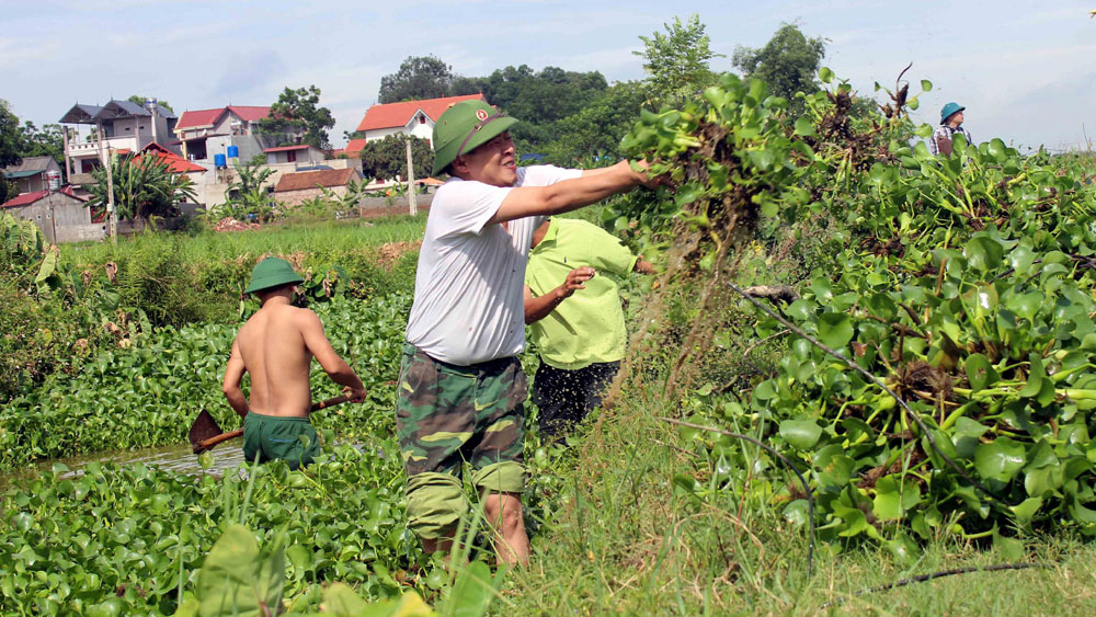Army helps people build new-style rural areas