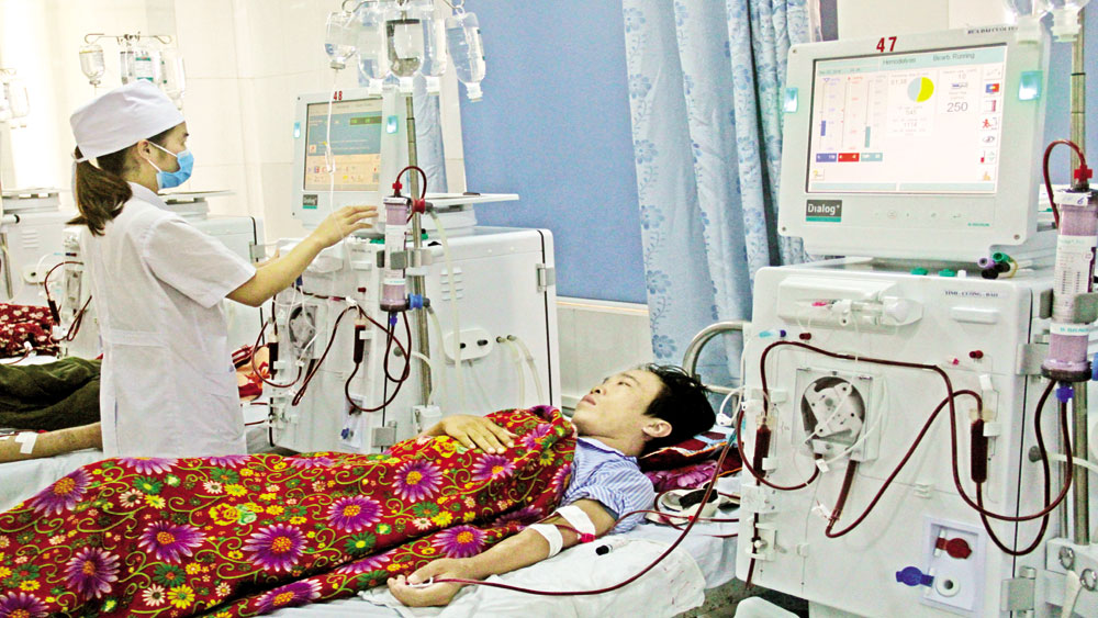 sức khỏe, suy thận, lọc máu, Bắc Giang, thận, bệnh viện, bệnh nhân, lọc máu