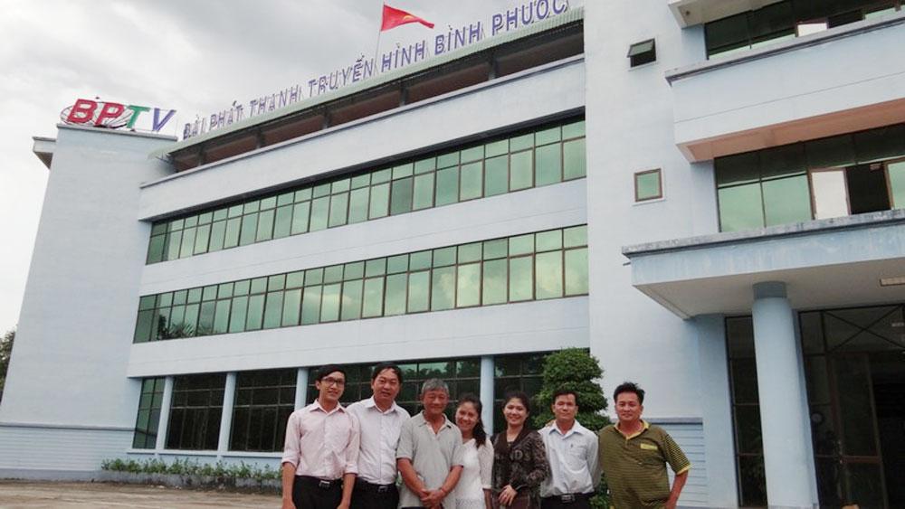 Thành lập, Đài Phát thanh - Truyền hình, Báo Bình Phước