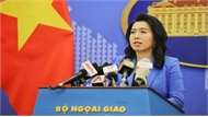 Yêu cầu chấm dứt ngay hành động vi phạm chủ quyền của Việt Nam