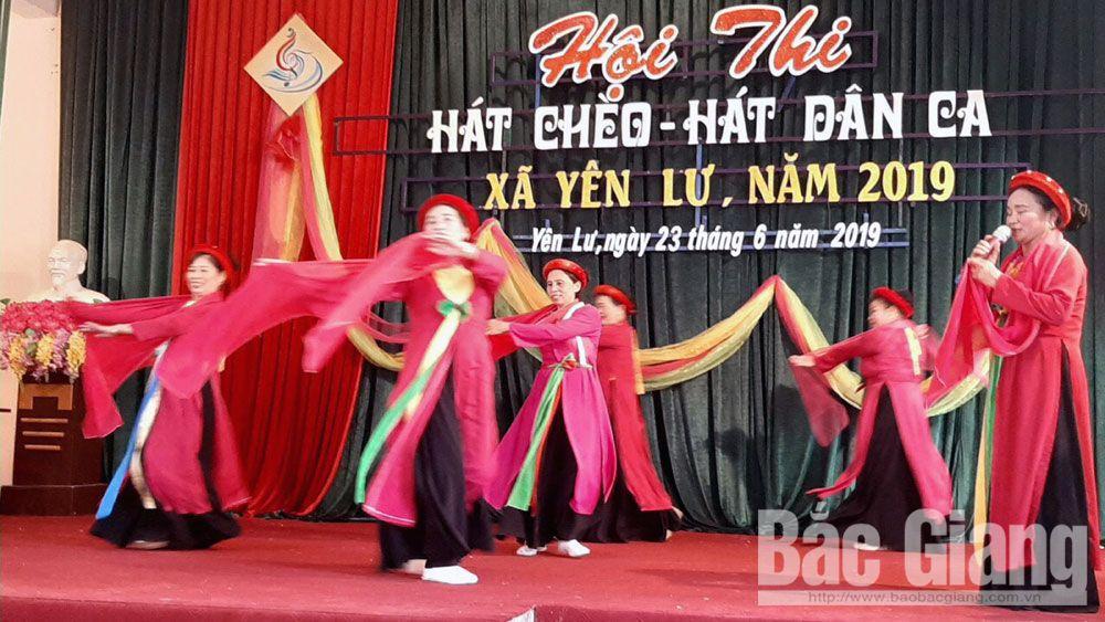 chèo, hát chèo, nghệ thuật chèo, Bắc Giang, Liên hoan Chèo toàn quốc
