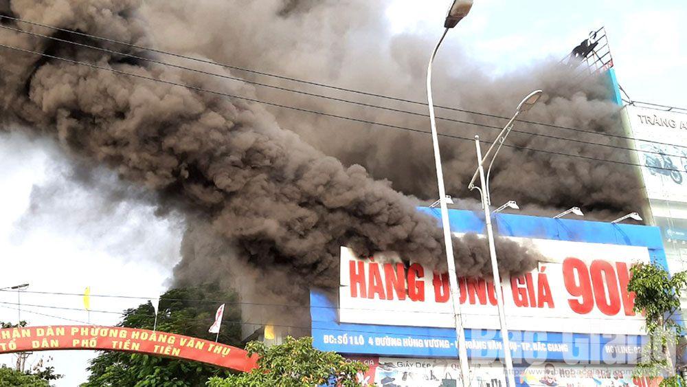 cháy, sự cố cháy, chấp, phòng, cháy, chữa cháy, Bắc Giang