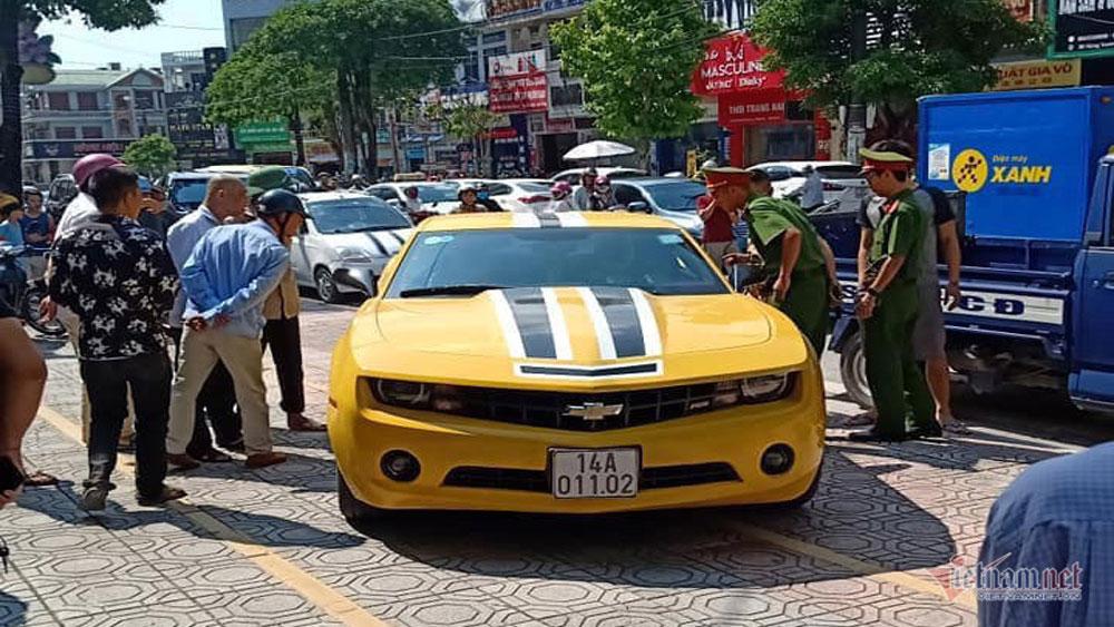 Tiết lộ, chủ nhân ô tô Chevrolet Camaro, dùng súng đập bể kính, Trần Anh Tuấn