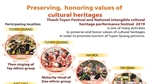Preserving, honoring values of cultural heritages