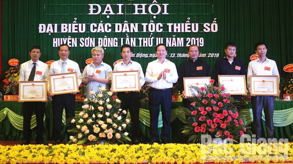 Đại hội, đại biểu, Các dân tộc thiểu số, huyện Sơn Động, Bắc Giang