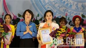 Chung kết Hội thi cán bộ nữ công giỏi năm 2019