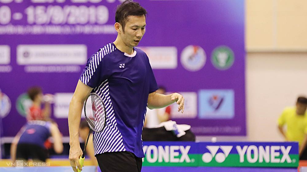 Tiến Minh, dừng bước, Vietnam Open, Sourabh Verma