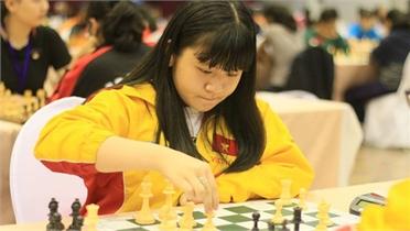 Kỳ thủ Nguyễn Thiên Ngân vô địch cờ nhanh trẻ thế giới