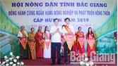 """Thị trấn Neo giành giải Nhất Hội thi """"Nông dân đồng hành cùng Ngân hàng Nông nghiệp và PTNT"""" huyện Yên Dũng"""