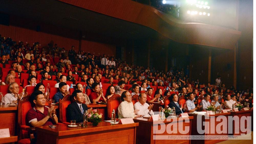 Bắc Giang, Liên hoan Chèo toàn quốc, nghệ thuật chèo
