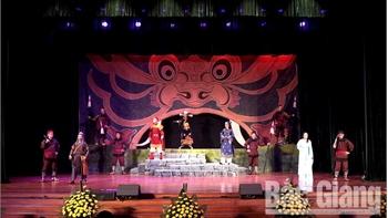 Ấn tượng Lễ khai mạc Liên hoan Chèo toàn quốc
