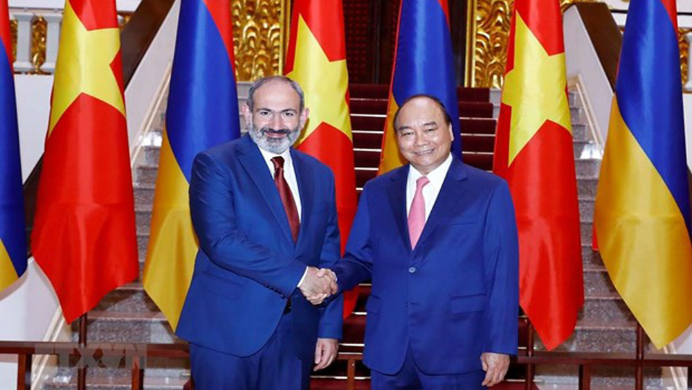 Vietnam, Armenia increase friendly exchanges