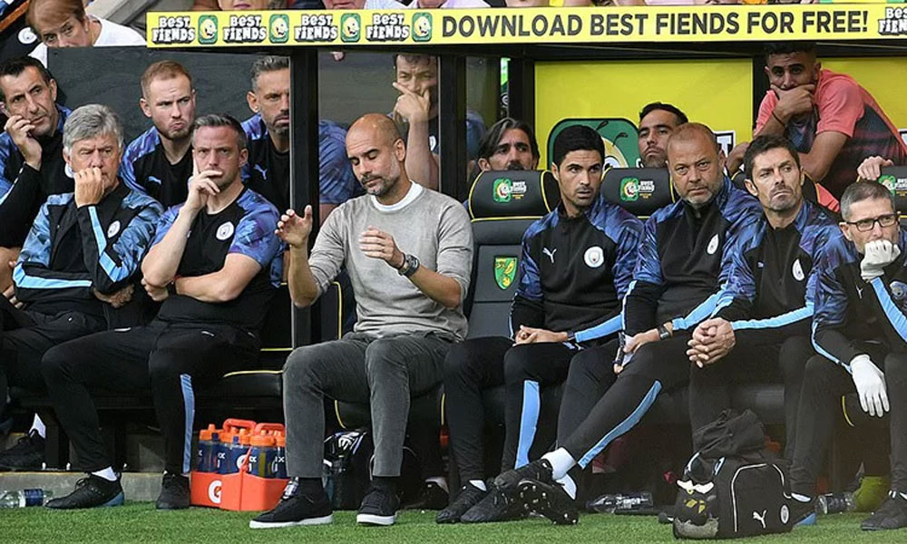 Man City, Norwich, Nicolas, Otamendi, Guardiola